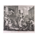 The Enraged Musician, 1741 Giclee Print by William Hogarth