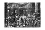 The Duke of Orleans Leaves the Royal Palace, Paris, 31st July 1830 (1882-188) Giclée-Druck von Antoine Charles Horace Vernet