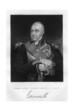 Admiral Edward Pellew (1757-183), 1st Viscount Exmouth, 1837 Giclee Print by W Holl