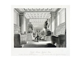 The Egyptian Room, British Museum, Holborn, London, C1840 Giclee Print by William Radclyffe
