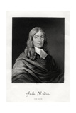 John Milton, English Poet, 19th Century Giclee Print by W Holl