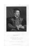 Charles V, Holy Roman Emperor Giclee Print by W Holl