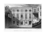 Brewers' Hall, Addle Street, City of London, 1831 Giclee Print by William Radclyffe