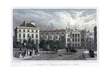 St Andrews Place, Regent's Park, London, 1828 Giclee Print by William Radclyffe