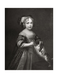 Princess (Later Quee) Anne, C1670-1675 Giclee Print by John Riley