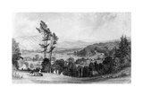 View from Norbury, Surrey, 19th Century Giclee Print by William Radclyffe