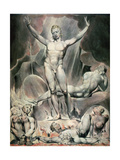 Satan Arousing the Rebel Angels, 1808 Lámina giclée por William Blake