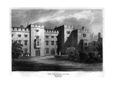 The Speaker's House, Westminster, London, 1815 Giclee Print by William Radclyffe
