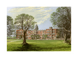 Hatfield House, Hertfordshire, Home of the Marquis of Salisbury, 1880 Giclee Print by Benjamin Fawcett