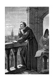 Roger Bacon, English Experimental Scientist, Philosopher and Franciscan Friar, 1867 Giclee Print