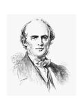 Charles Lyell, Scottish-Born British Geologist, 19th Century Giclee Print by George Richmond