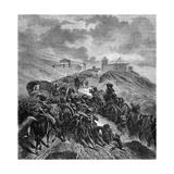 The French Army Crossing the Sierra Guadarrama, Spain, 22nd-24th September 1808 Giclee Print by Nicolas Antoine Taunay
