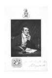 Humphry Davy, English Chemist, 1821 Giclee Print by Thomas Phillips