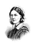 Florence Nightingale, 1870 Giclee Print