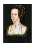 Anne Boleyn, Second Wife of Henry VIII, C1520-1536 Giclee Print