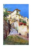 Albaicin, the Old Quarter of Granada, Andalusia, Spain, C1924 Lámina giclée