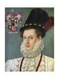 Sir Edward Hoby, (1560-161) Giclée-tryk