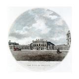 Façade of the Bank of England, Threadneedle Street, London, 1796 Giclee-trykk