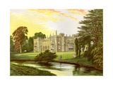 Arbury Hall, Warwickshire, Home of the Newdegate Family, C1880 Giclee Print by Benjamin Fawcett
