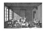 Needle-Making, 1751-1780 Giclée-Druck