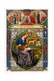 St Genevieve, 1886 Lámina giclée