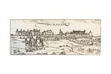 Windsor Castle Giclee Print by Joris Hoefnagel