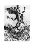 Nemesis or Good Fortune, C1502 Reproduction procédé giclée par Albrecht Durer