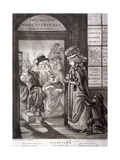The Lottery Contrast, 1760 Giclee Print by Robert Dighton