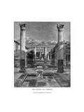 The Ruins of Pompeii, Italy, 19th Century Giclee Print by Carleton Carleton