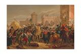 L'Entree D'Henri IV a Paris (The Entry of Henri IV into Pari), 1817 Giclee Print by Francois Pascal Simon Gerard