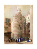 The Gate of El Metwalli, Cairo, Egypt, C1829 Giclee Print by David Roberts