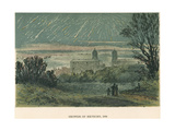 Shower of Meteors (Leonid) Observed over Greenwich, London, 1866 Giclee Print