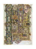 The Opening Words of St Mark's Gospel, 800 Ad Giclée-tryk