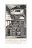 Leadenhall Street, London, 1811 Giclée-tryk af John Nixon