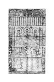 Chinese Buddhist Prayer Sheet, 1926 Giclee Print