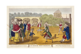 Summer Amusement, Possibly at White Conduit House, Islington, London, C1784 Giclee Print by Robert Dighton
