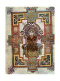 Portrait of St John, 800 Ad Giclée-tryk