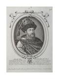 Portrait of the Tsar Alexis I Mikhailovich of Russia (1629-167), Second Half of the 17th Century Giclee Print by Nicolas de Larmessin