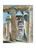 Hypostyle Hall, Temple of Amon-Re, Karnak, Ancient Egypt, 14th-13th Century BC Giclée-Druck