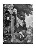 David Garrick (1717-177), English Actor, Playwright, Theatre Manager and Producer, 1905 Lámina giclée por Gainsborough, Thomas