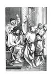 Jesus Crowned with Thorns Reproduction procédé giclée par Albrecht Durer