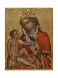 Madonna of Veveri, C1350 Lámina giclée