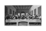 The Last Supper, 1498 Giclée-tryk af E Foutana