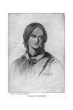 Charlotte Brontë, English Novelist, 1906 Giclee Print by George Richmond