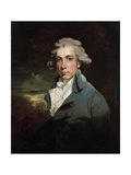 Portrait of the Playwright and Whig Statesman Richard Brinsley Sheridan, (1751-181) Giclee Print by John Hoppner