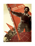 The USSR Is the Crack Brigade of the World Proletariat, 1931 Giclee Print by Gustav Klutsis