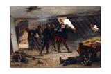 Scene from the Franco-Prussian War, 1875 Giclee Print by Alphonse Marie de Neuville