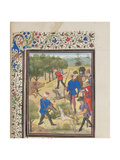 John II Comnenus, Byzantine Emperor at the Hunt, 1460S Giclee Print