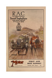 A Programme for the Rac International Tourist Trophy Race, Belfast, Northern Ireland, 1929 Giclee Print