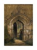 Stratford Church, Warwickshire, England, 1845 Lámina giclée